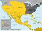 The Viceroyalty of New Spain in 1800 | Historical maps ...