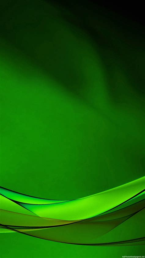 Line Green Abstract Hd Wallpapers For Android Mobile