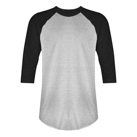 It also has a zipper and a front pocket. Blank Blue White Raglan Long Sleve Shirt Mock Up Templat ...