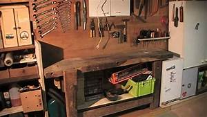 amenagement de garage en atelier de bricolage 12 youtube With faire un garage en bois
