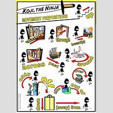 Koji The Ninja Teaches Movement Prepositions Worksheet  Free Esl Printable Worksheets Made By