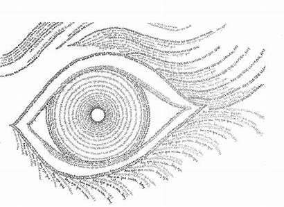 Caligrama Caligramas Ojos Ejemplos Poemas Pudieran Hablar