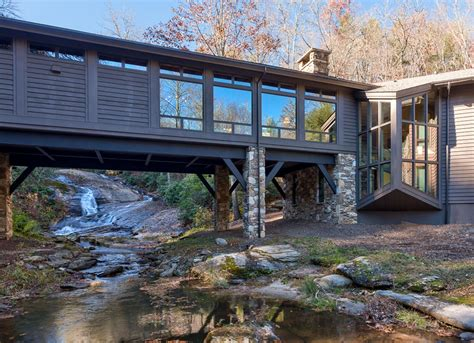 Bridge House Home Across A by Platt Architecture Pa Bridge House Quot The Barn Quot In