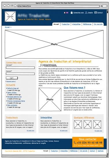 exemple de site vitrine webdesign cr 233 ation templates web et cms
