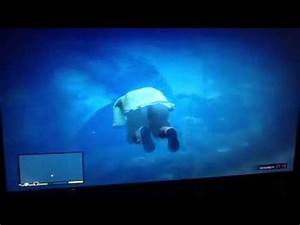 Plane crash underwater Easter egg in GTA V - YouTube