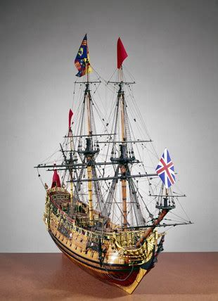 HMS 'Prince', 1670. at Science and Society Picture Library
