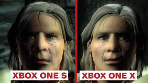 4k elder scrolls oblivion xbox one x enhanced vs xbox