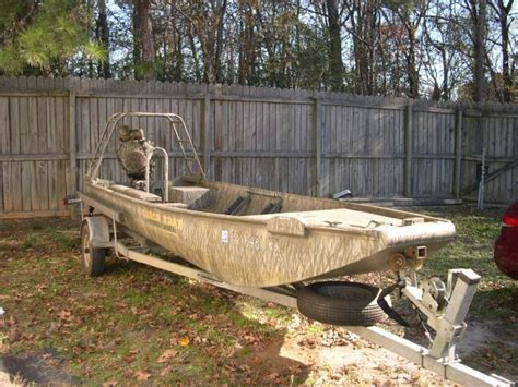 Mud Buddy Boats For Sale In Sc by 2005 18x54 Gator Trax Mud Buddy The Hull Boating