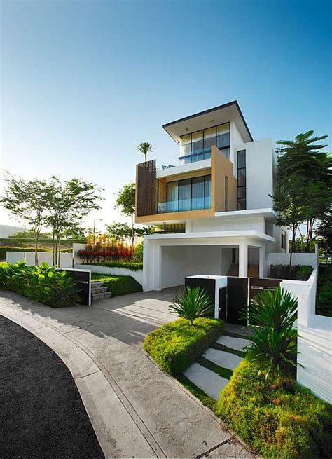modern contemporary home exterior home decor