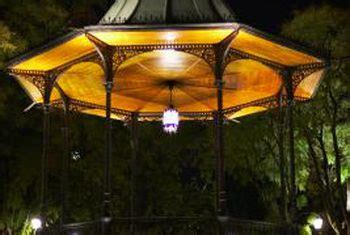 outdoor lighting for gazebos home guides sf gate
