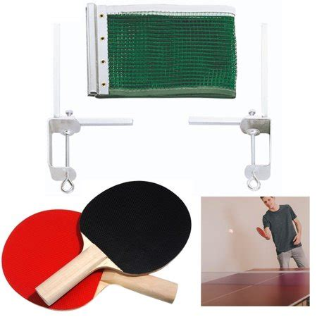 5pc ping pong net paddle table tennis replacement indoor sports walmart