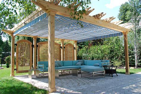 retractable pergola canopy  oakville shadefx canopies