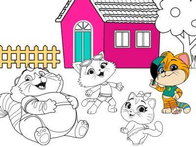 cats rainbow tv series website  games