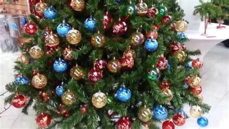 decoracion arboles de navidad 2017 con bolas parte 5 youtube