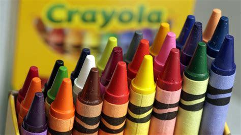color crayon crayola announces it will retire dandelion from its iconic