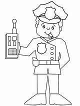 Coloring Sheriff Badge Police Printable Getcolorings sketch template