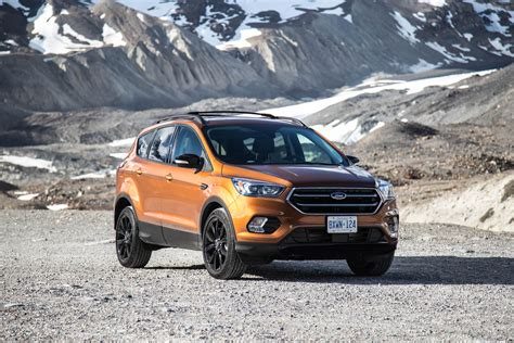 2017 Ford Escape Titanium Sport Appearance Package drive 2017 ford escape canadian auto review