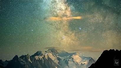 Milky Way Glimmering Adrien Mauduit Stars Timelapse