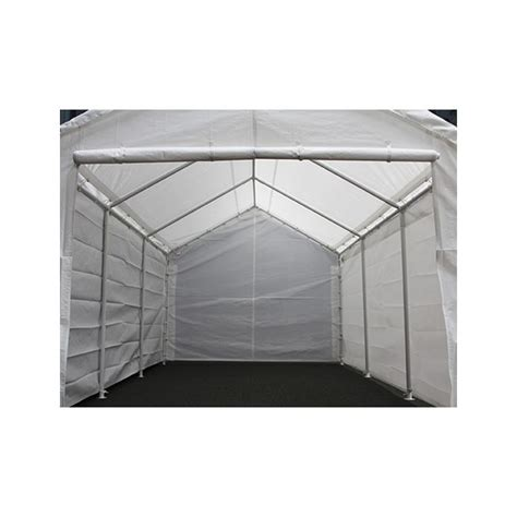 king canopy    hercules canopy enclosed  leg snow load white  lbs hoover fence