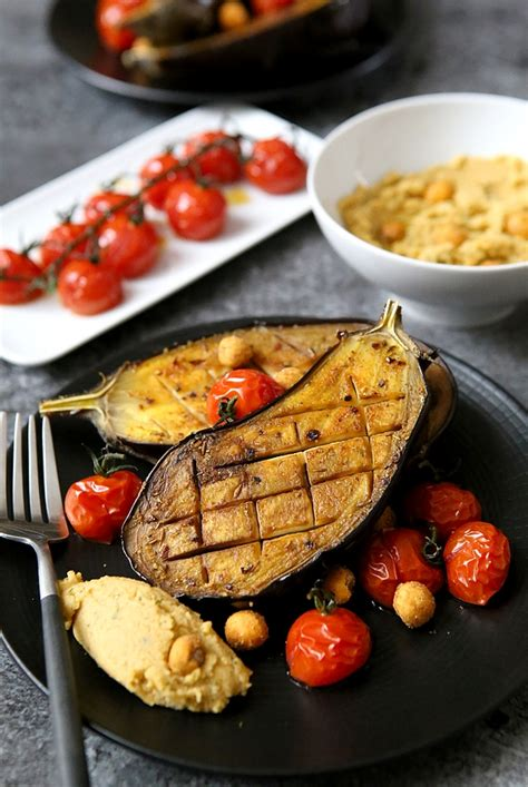 cuisiner des aubergines au four aubergines rôties au four ou au barbecue gourmandiseries