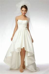 short wedding dresses with train With short to long wedding dresses