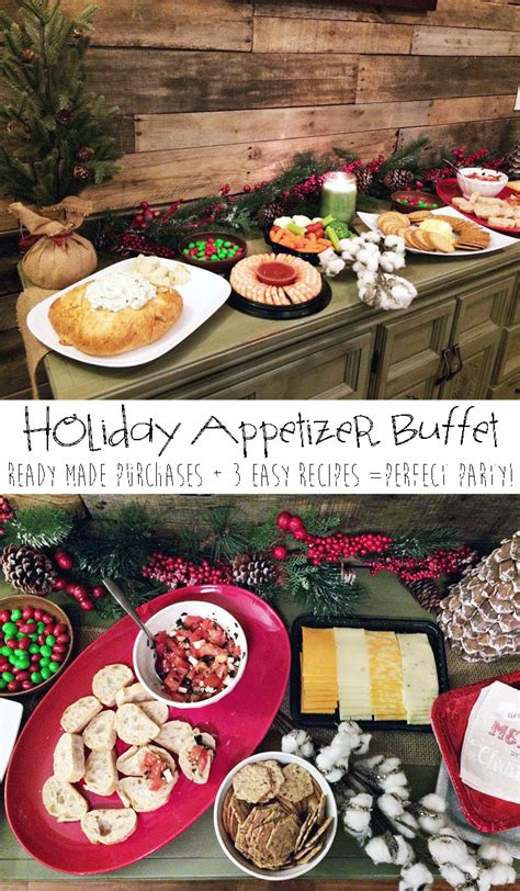 christmas appetizer buffet holiday appetizer buffet for easy entertaining life sew savory