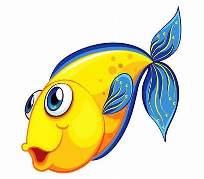 Fish Transparent Clipart Background Clip Cartoon Fishing