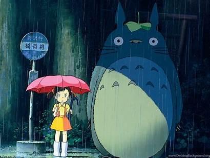 Desktop Totoro Neighbor Backgrounds Computer Wallpapers Background