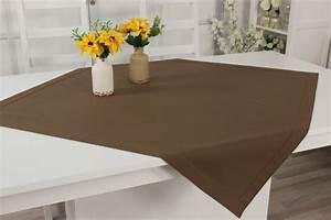 Tischdecken Größe Berechnen : outlet tischdecken hellbraun gr e 80x80 cm tischw sche bis 30 rabatt tischw sche outlet ~ Themetempest.com Abrechnung