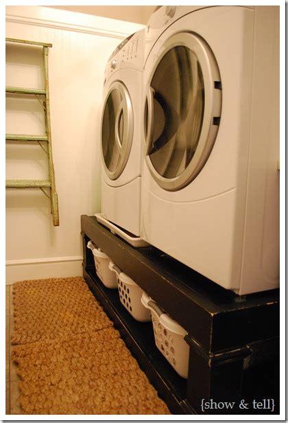 joyful discoveries washer dryer stand