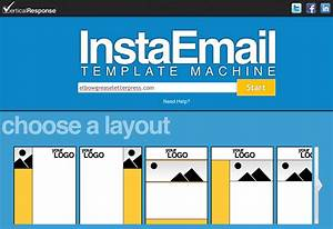 Email marketing just like that verticalresponse for Making an email template