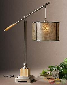 sitka solid wood base mica shade table lamp 26765 1 With sitka silver floor lamp