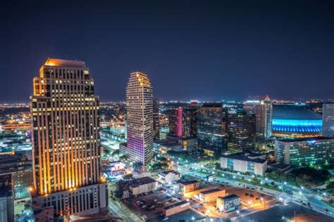12 amazing aerial views of new orleans