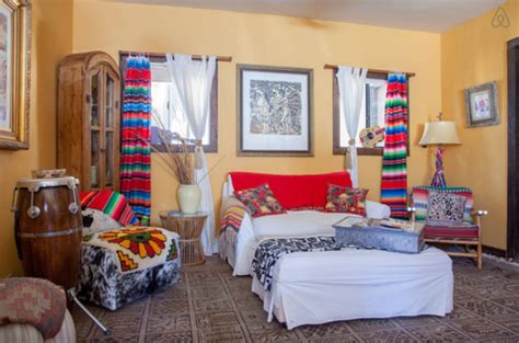 airbnb boulder home bold colorful california vacation home