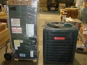 1 5 Ton 14 Seer Goodman Heat Pump Split System W Heat Kit