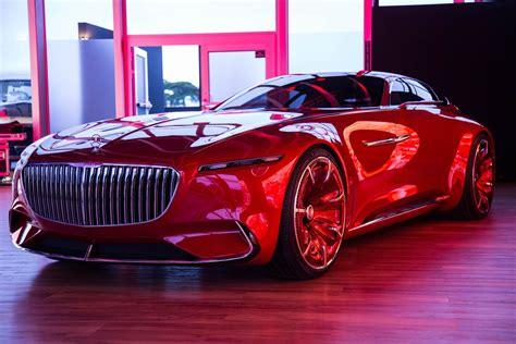 vision mercedes maybach  concept car
