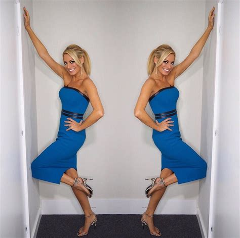 Tess Daly Blue Strapless Dress Strictly Come Dancing Week ...