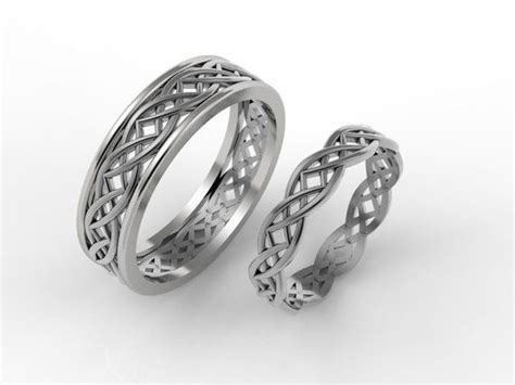 celtic wedding ring his and hers celtic rings celtic wedding bands gold celtic ring knot