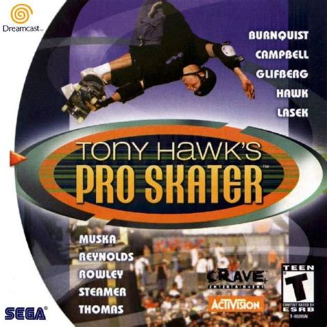 tony hawk dreamcast game