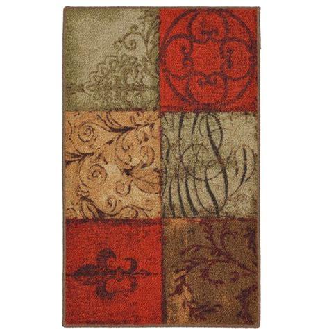 kitchen rugs walmart mohawk home tuscany kitchen rug walmart