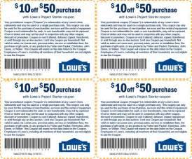 2017 Printable Lowe's Coupon Code