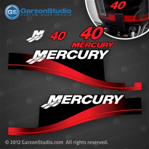 1999 2010 mercury 40 hp 37 830163a00 decal set decals window 2000 2001 2002 2003 2004