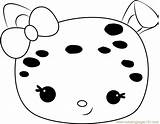 Jelly Coloring Confetti Pages Num Noms Coloringpages101 sketch template