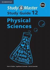 Study  U0026 Master Physical Science Grade 12 Study Guide  Used