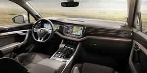 2018 VW Touareg Interior Dashboard Indian Autos Blog