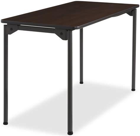 48 x 30 folding table maxx legroom wood 24 39 39 w x 48 39 39 d folding table walnut