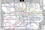 New Tube Map Showing Cross Rail. : london