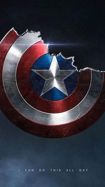 Captain America Shield Broken Iphone Wallpapers Iphones