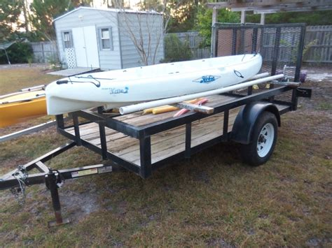 kayak rack for trailer kayak rack for utility trailer ftempo