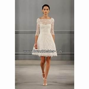 Spitzen Brautkleid Kurz
